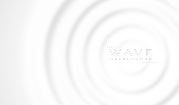 Fundo abstrato ondas brancas