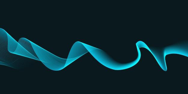 Fundo abstrato ondas design