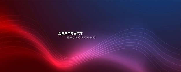 Fundo abstrato ondulado brilhante futurista