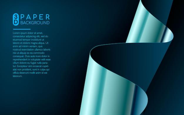 Fundo abstrato papel azul