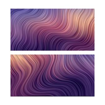 Fundo abstrato. papel de parede de linha listrada. definido em cor pastel suave