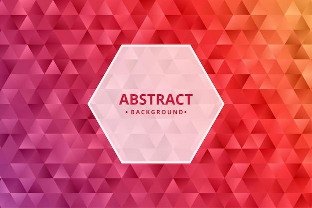 Fundo abstrato. papel de parede padrão geométrico. forma poligonal.