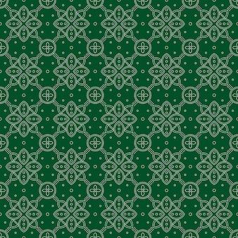 Fundo abstrato. papel de parede padrão sem emenda de batik. tecido têxtil. motivo clássico