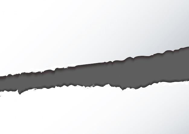 Fundo abstrato papel rasgado
