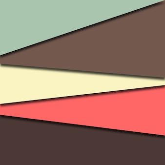 Fundo abstrato papercut