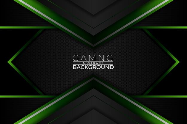 Fundo abstrato para jogos estilo verde escuro