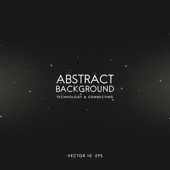Fundo abstrato para tecnologia em preto