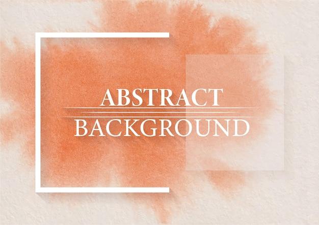 Fundo abstrato permarnent orang color com design moderno e elegante