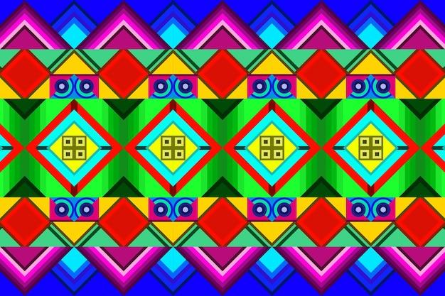Fundo abstrato plano colorido