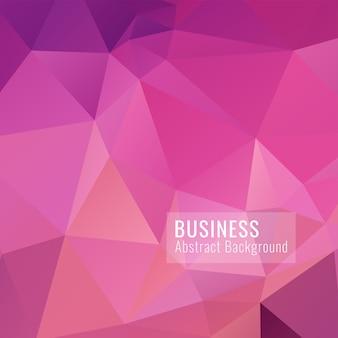 Fundo abstrato polígono-de-rosa.