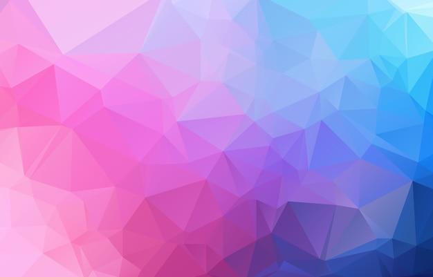 Fundo abstrato polígono irregular