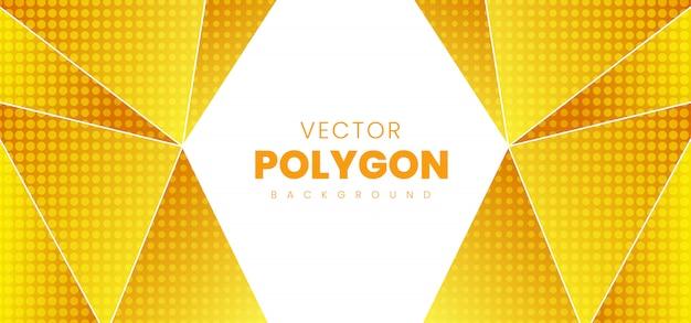 Fundo abstrato polígono