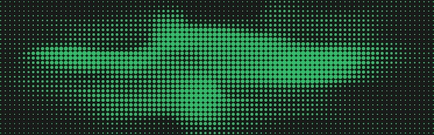 Fundo abstrato pontos de meio-tom