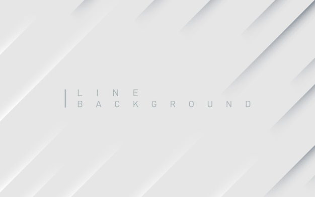 Fundo abstrato premium de linha diagonal com sombra clara e escura