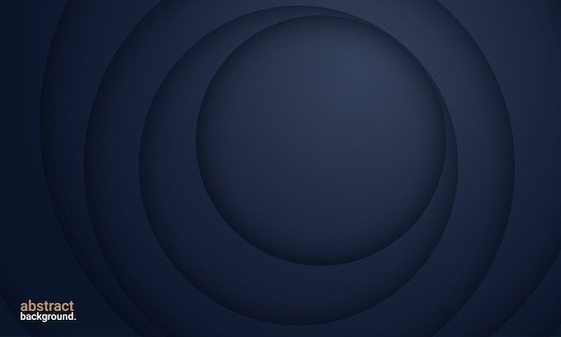 Fundo abstrato premium em azul profundo e minimalista