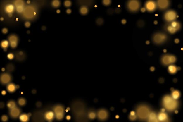 Fundo abstrato preto e branco ou prata glitter e elegante para o natal. poeira branca. partículas de poeira mágica cintilante. conceito mágico. abstrato com efeito bokeh