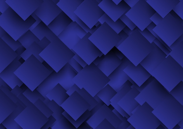 Fundo abstrato quadrados design