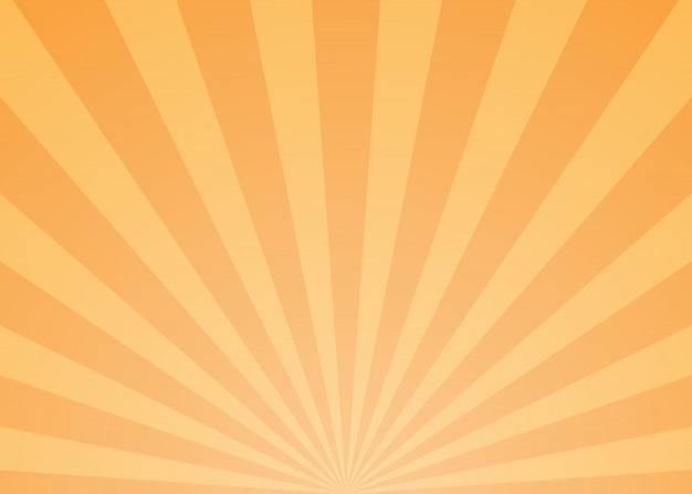 Fundo abstrato raios de luz Vetor Premium