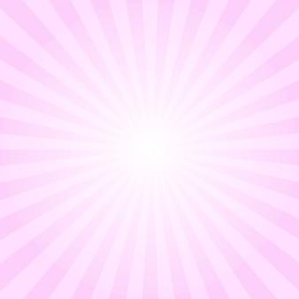 Fundo abstrato raios rosa