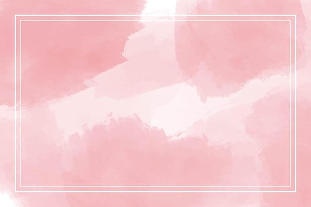 Fundo abstrato rosa aquarela