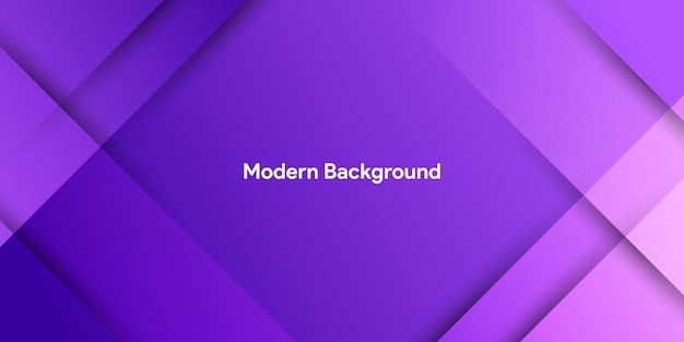 Fundo abstrato roxo moderno