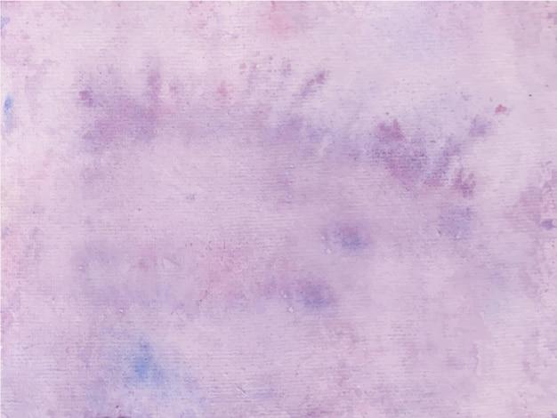 Fundo abstrato roxo pintado à mão em aquarela. textura decorativa. desenho desenhado à mão no papel