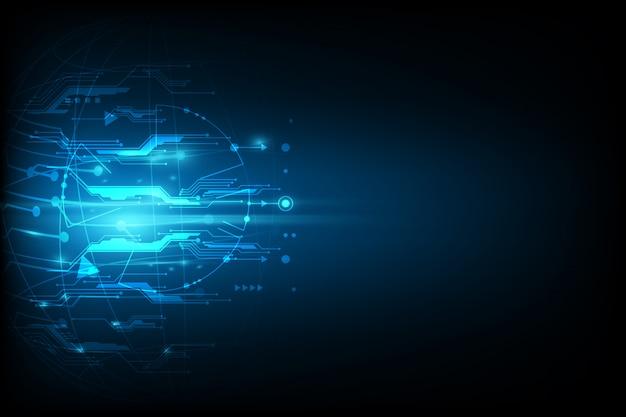 Fundo abstrato tecnologia comunicação