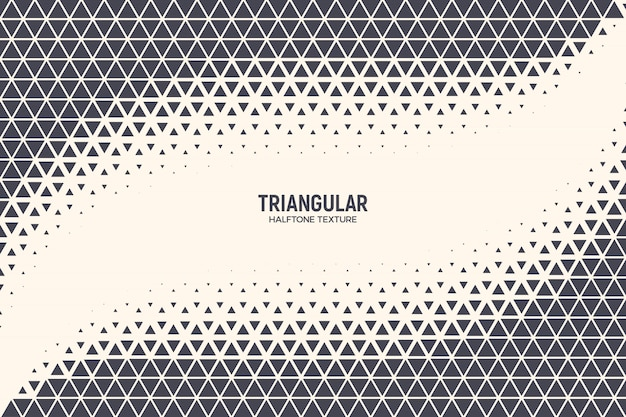 Fundo abstrato tecnologia de triângulos