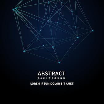Fundo abstrato tecnologia digital