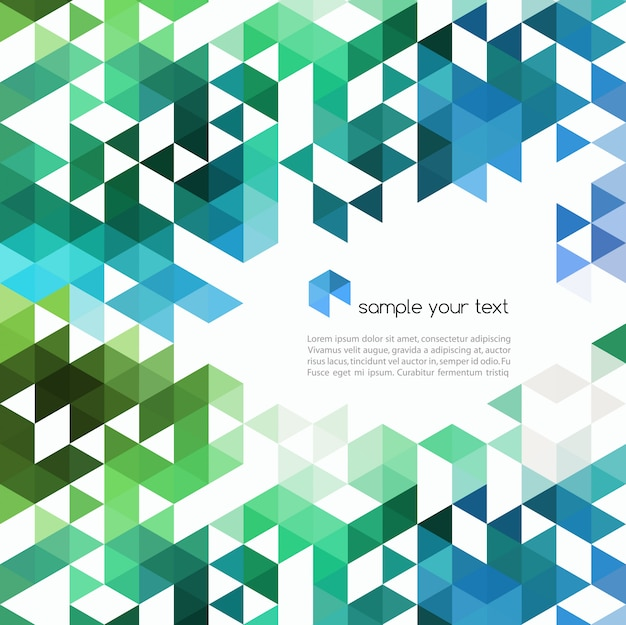 Fundo abstrato tecnologia em cores