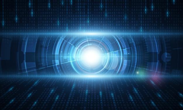 Fundo abstrato tecnologia hitech comunicação conceito inovação fundo