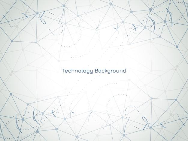 Fundo abstrato tecnologia moderna