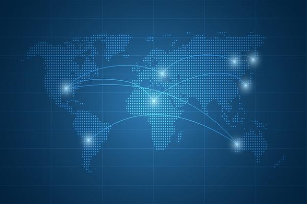 Fundo abstrato tecnologia proteger a inovação do sistema