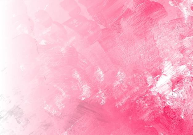 Fundo abstrato textura aquarela rosa