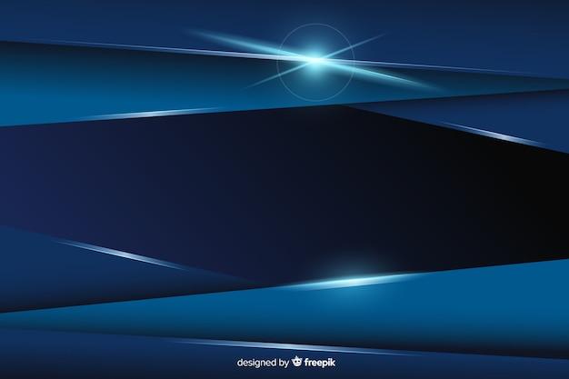 Fundo abstrato textura azul metálico