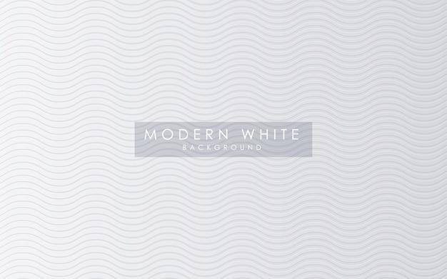 Fundo abstrato textura ondulada branca