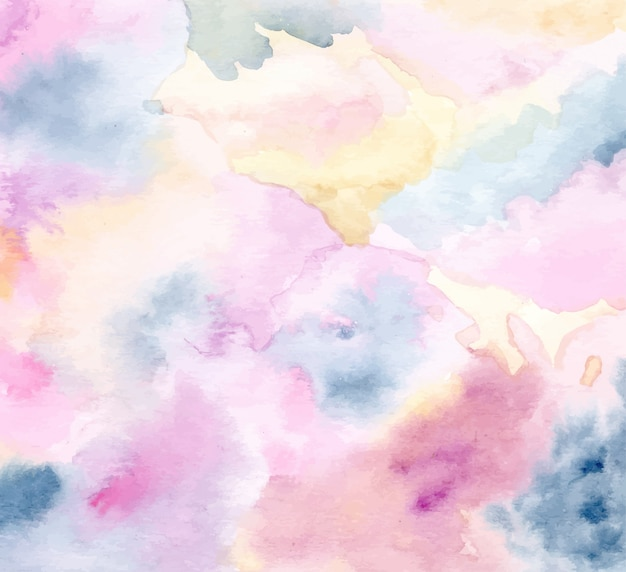 Fundo abstrato textura pastel com aquarela