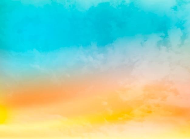 Fundo abstrato verão cor