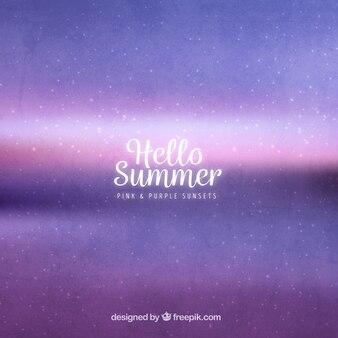 Fundo abstrato verão
