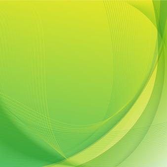 Fundo abstrato verde amarelo