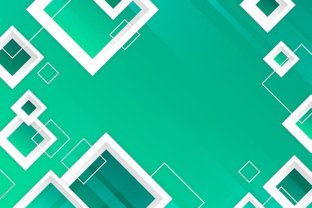 Fundo abstrato verde geométrico
