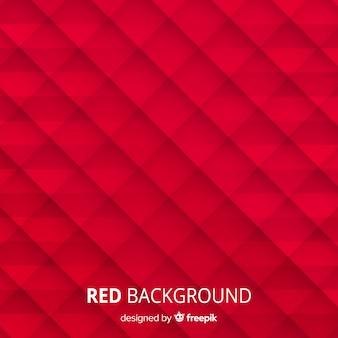Fundo abstrato vermelho com estilo elegante