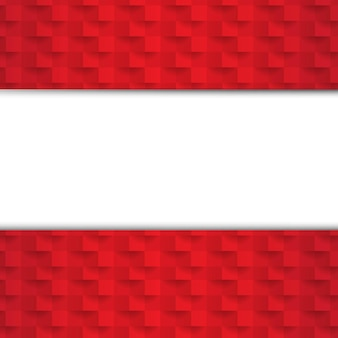 Fundo abstrato vermelho com textura de papel com malha gradiente
