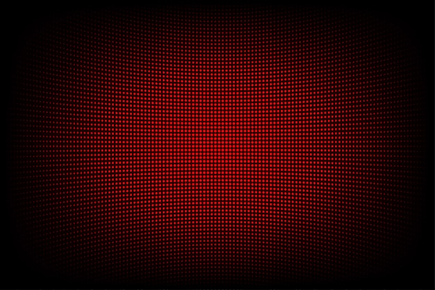 Fundo abstrato vermelho da tecnologia para o internet e o negócio do web site do gráfico de computador. fundo azul escuro