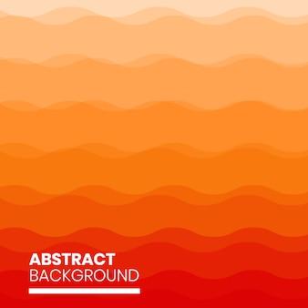 Fundo abstrato vermelho ondulado