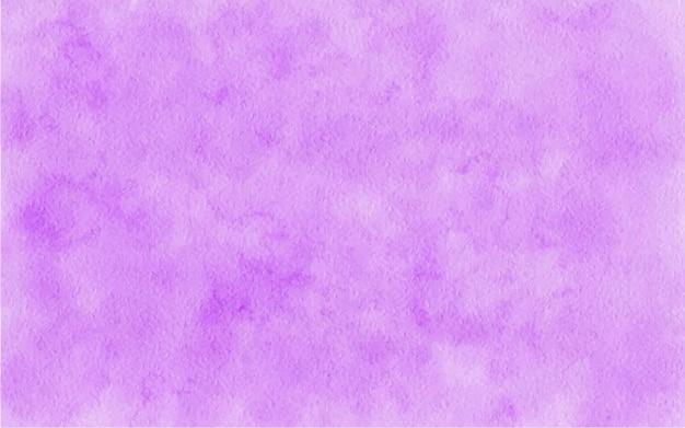 Fundo abstrato violeta aquarela pintado à mão