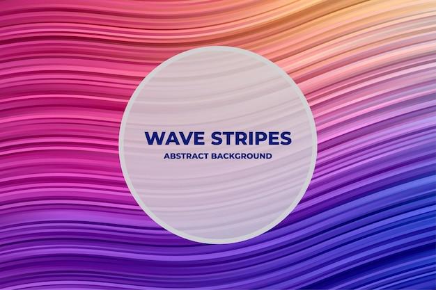Fundo abstrato wave stripe