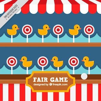 Fundo agradável jogo justo