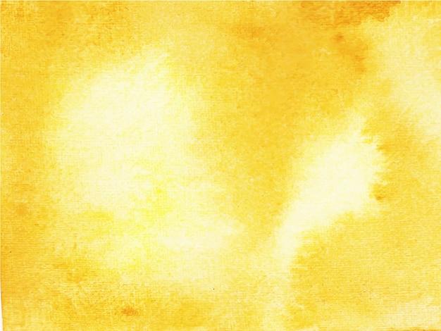 Fundo amarelo aquarela abstrato.