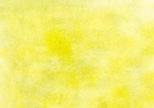 Fundo amarelo aquarela e fundo abstrato de textura